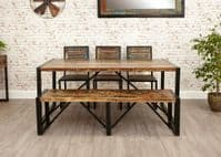 Baumhaus Urban Chic Large Dining Bench | Dining Bench By Baumhaus | Free Delivery